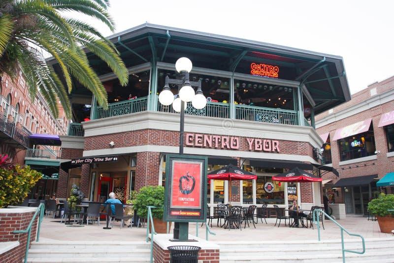 Ybor miasto Centro, Tampa, Floryda zdjęcia royalty free