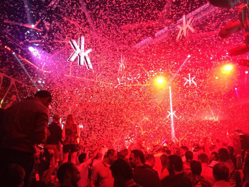 Życia nocnego przyjęcie zdjęcie royalty free