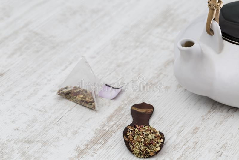 ?ycia wci?? herbata fotografia stock