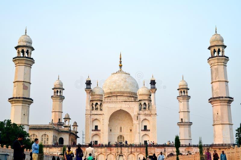 Życie India: Bibi Ka Maqbara - grobowiec dama zdjęcie royalty free