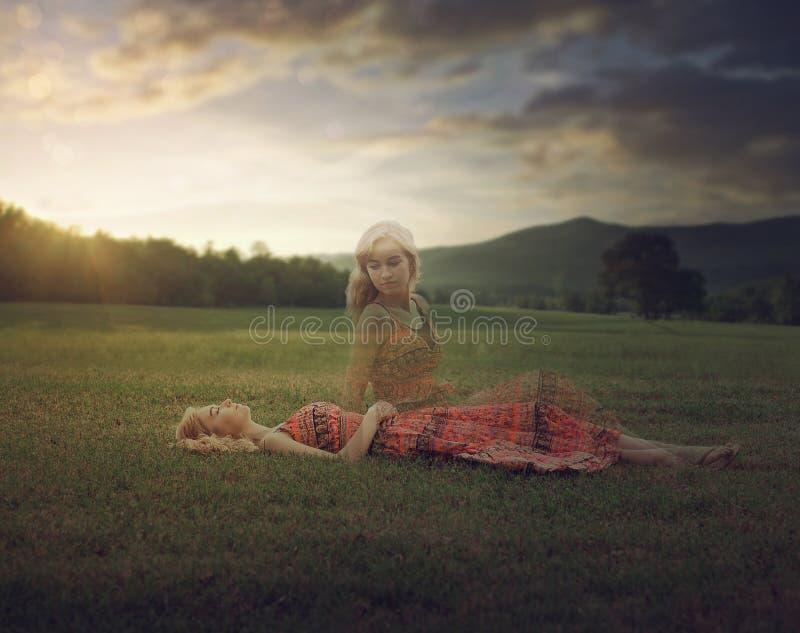 Życie po śmierci fotografia stock