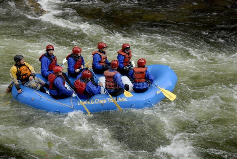 ŻYCIE PRZY usa HIGHAY 12 CELAR wody rzeką I LOCHSA rzeką zdjęcie royalty free