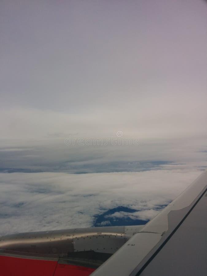 Życie w chmurach fotografia stock