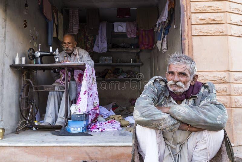 Życie w Osian, Jodhpur, Rajasthan zdjęcia stock