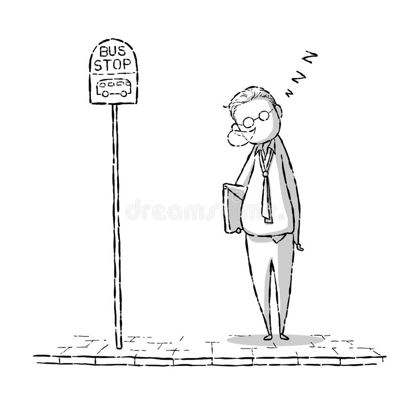 Download Życie zawodowe ilustracji. Ilustracja złożonej z linia - 53784870