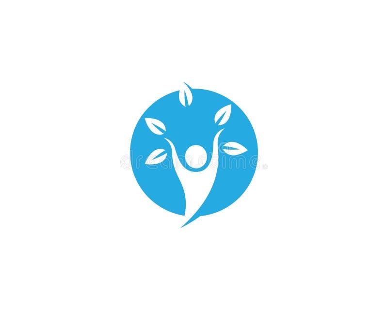 ?ycie zdrowy logo ilustracji