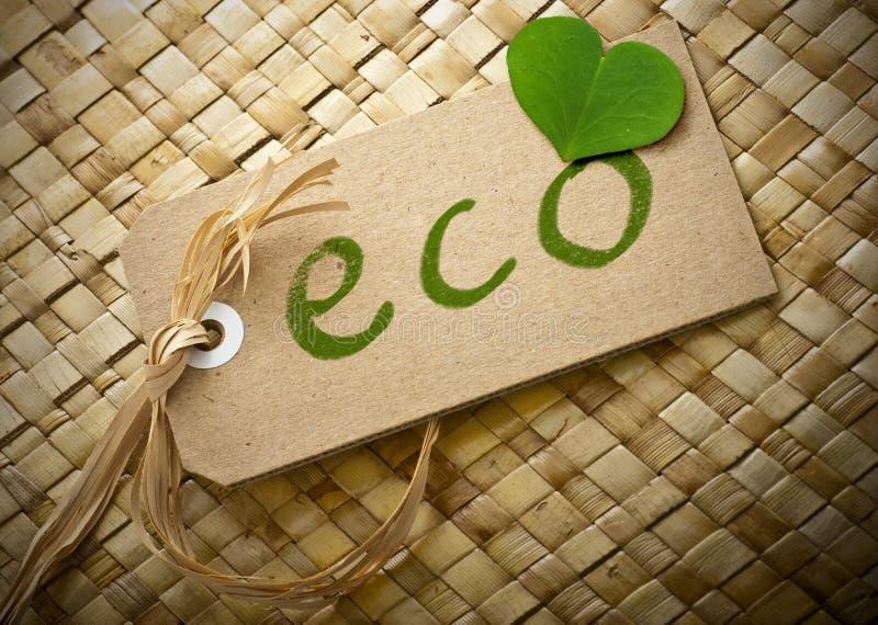 Download Życzliwa Eco Etykietka Obraz Royalty Free - Obraz: 26265506