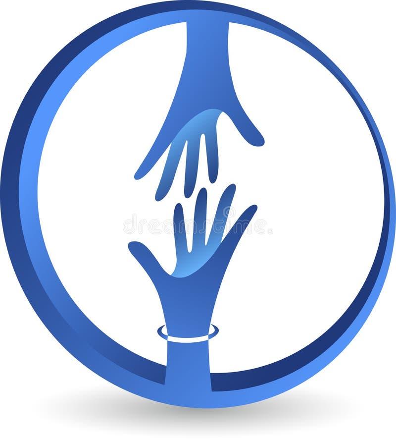 Życzliwy logo ilustracja wektor