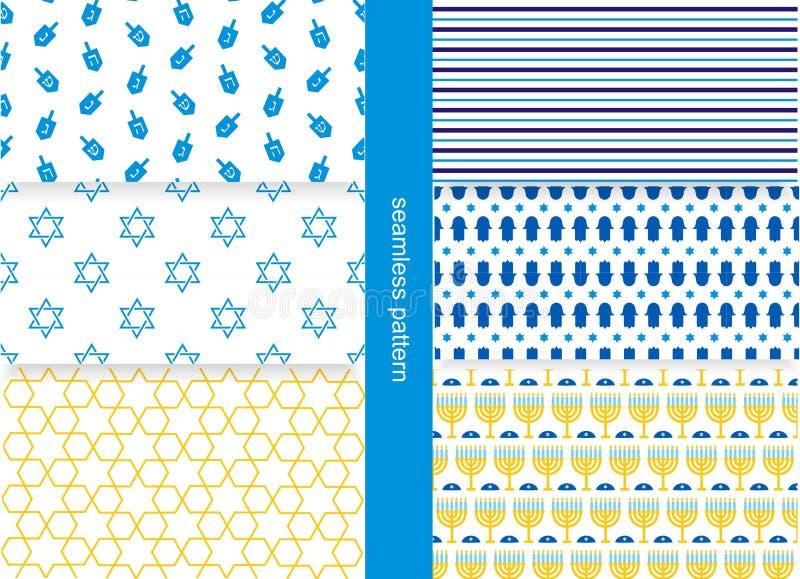 Żydowski wzór royalty ilustracja