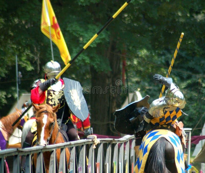 Ye Royal Joust stock image