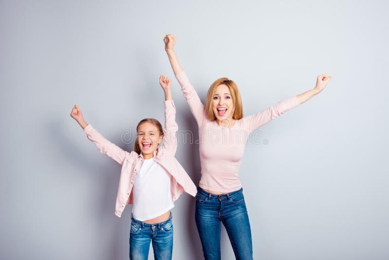 Yeah hooray os povos apoiam o sonho do prazer do triunfo da vitória sonhador fotos de stock