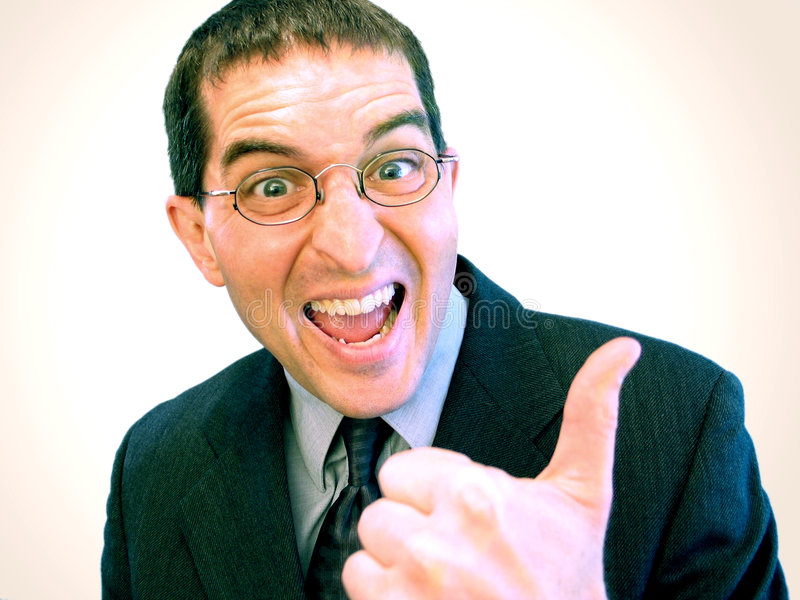 Yeah! (Success At Last!) royalty free stock photography