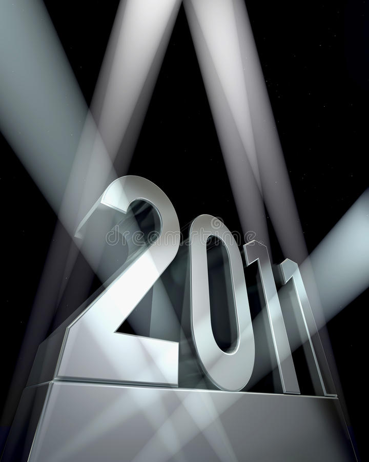 Download Year 2011 stock illustration. Illustration of night, epoch - 12747957