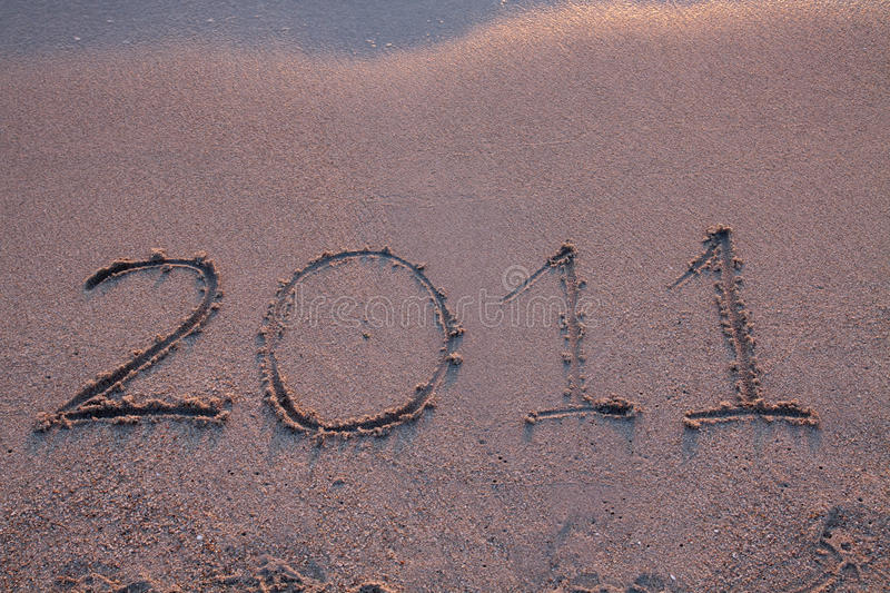 Download Year 2011 Is Coming Stock Photo - Image: 15842040