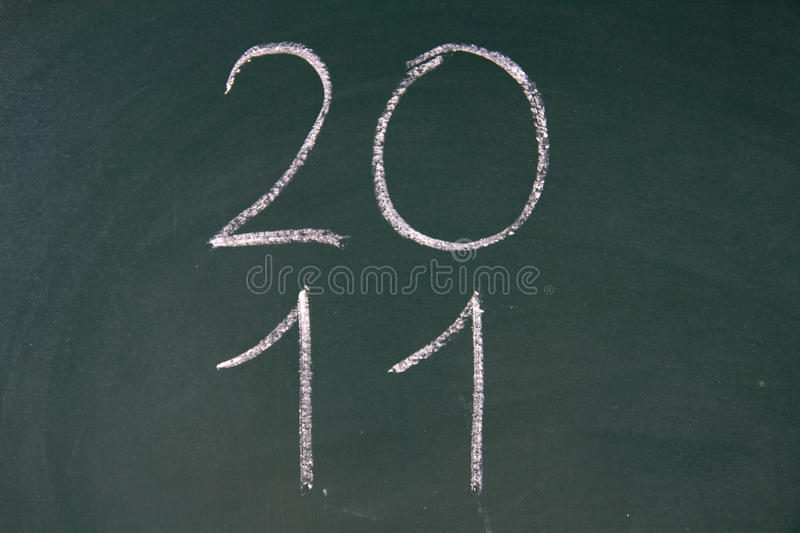 Year 2011 Is Coming Royalty Free Stock Photos