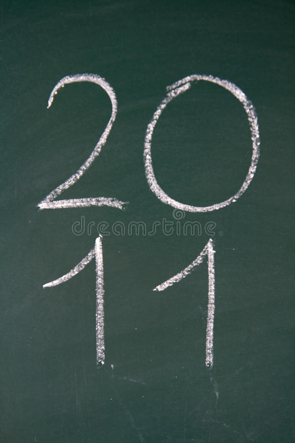 Free Year 2011 Is Coming Royalty Free Stock Image - 16557536
