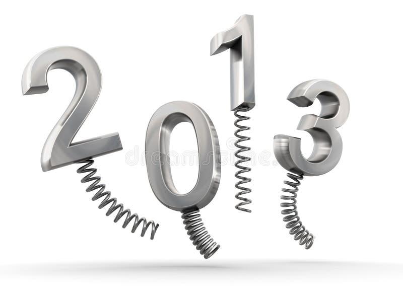 Year 2013 New Year Celebration Royalty Free Stock Image