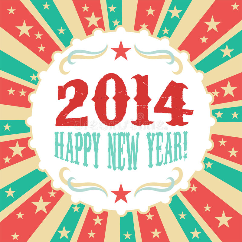 Free Year 2014 Stock Photography - 36205672