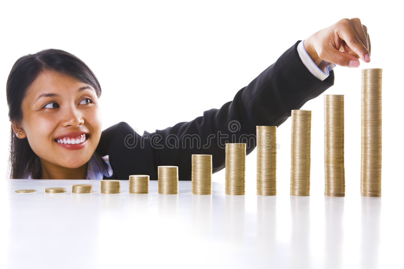 Download This Is The Year End Profit Of My Investment Stock Photo - Image of golden, growth: 7840288