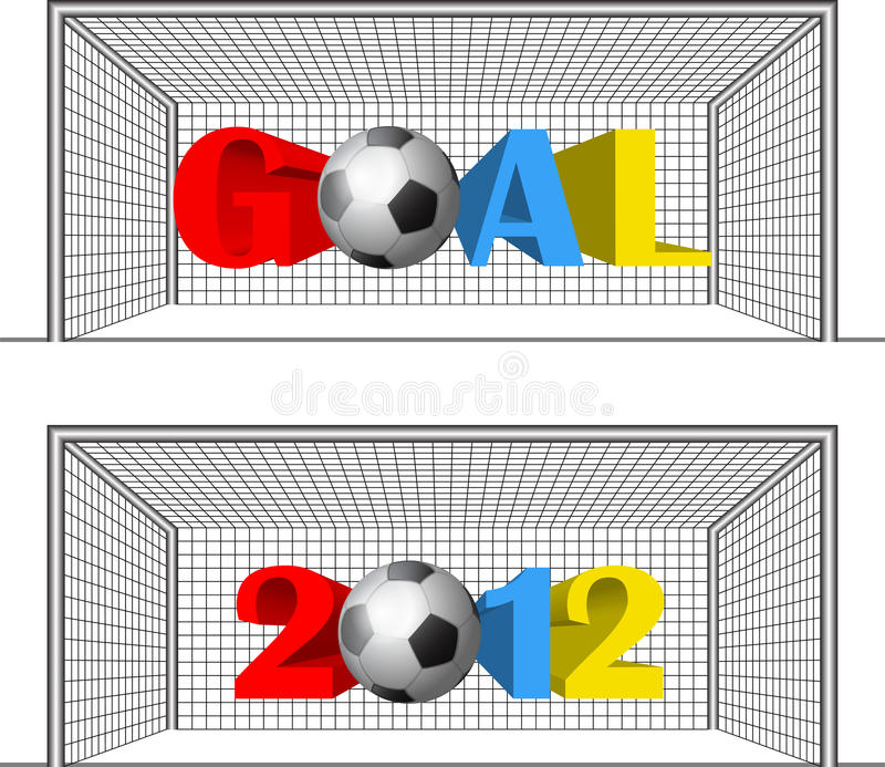 Download Year goals stock vector. Illustration of continent, player - 24920691