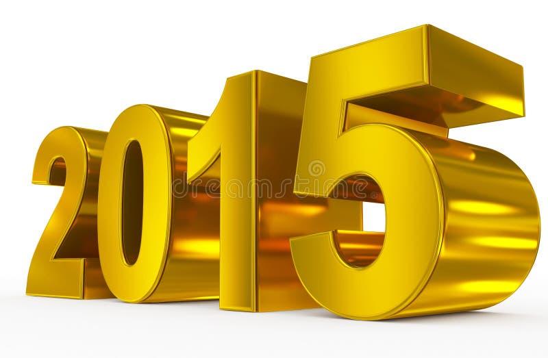 Download Year 2015 Stock Illustration - Image: 42280583