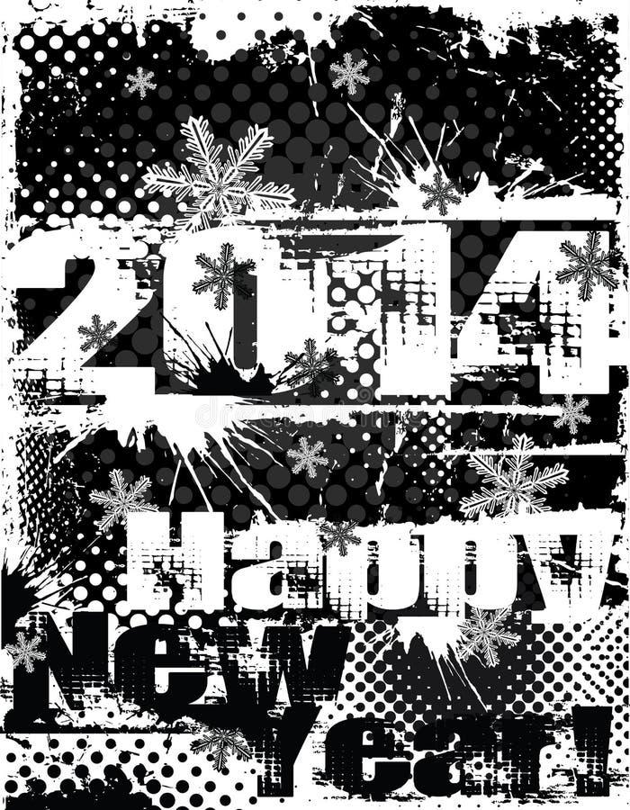2014 Year illustration