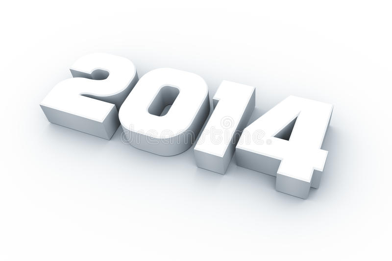 Download Year 2014 stock illustration. Image of modern, icon, december - 30819743