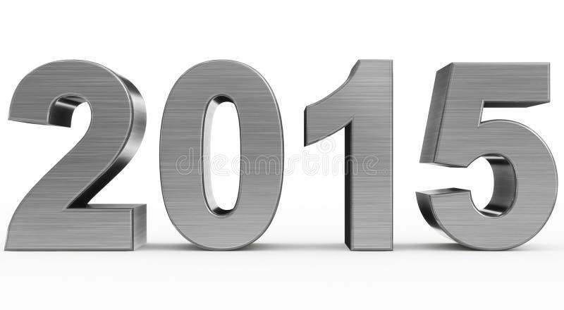 Year 2015 vector illustration