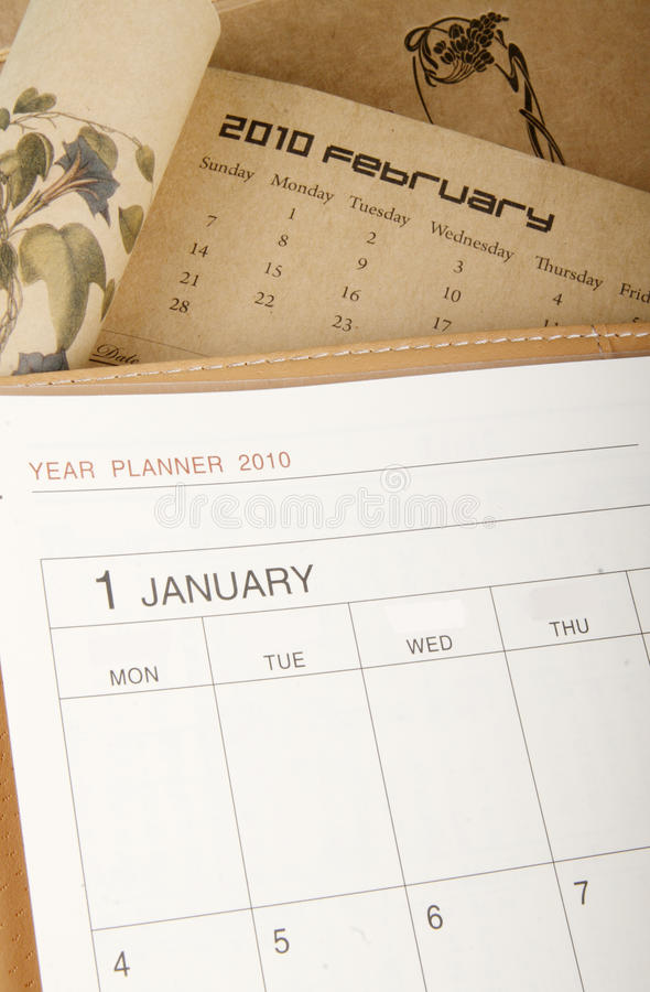 Download Year planner stock image. Image of february, start, calendar - 12610903