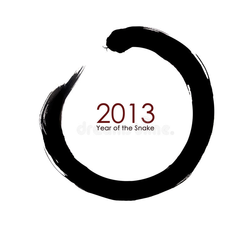 The year of snake 2013 vector illustration