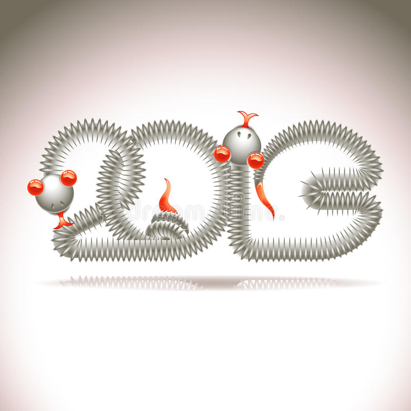 Year Of The Snake Royalty Free Stock Image