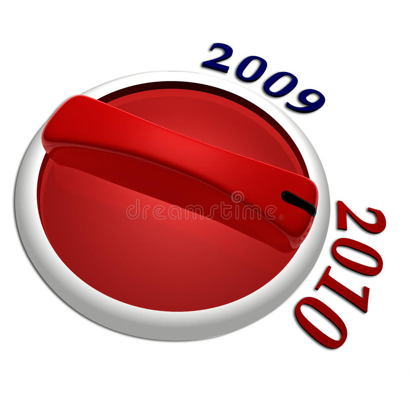 Download Year switch stock illustration. Illustration of number - 10548910