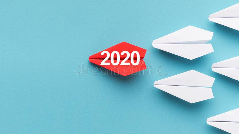 2020 year trends concept royalty free stock images