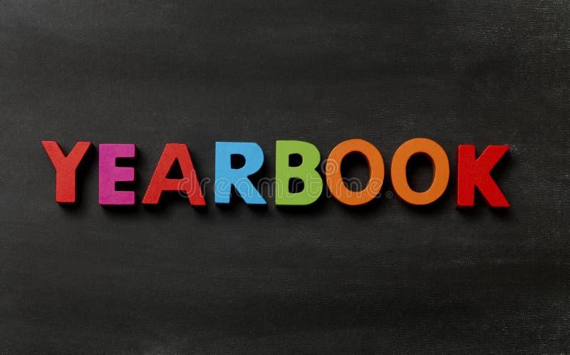 yearbook zdjęcie royalty free