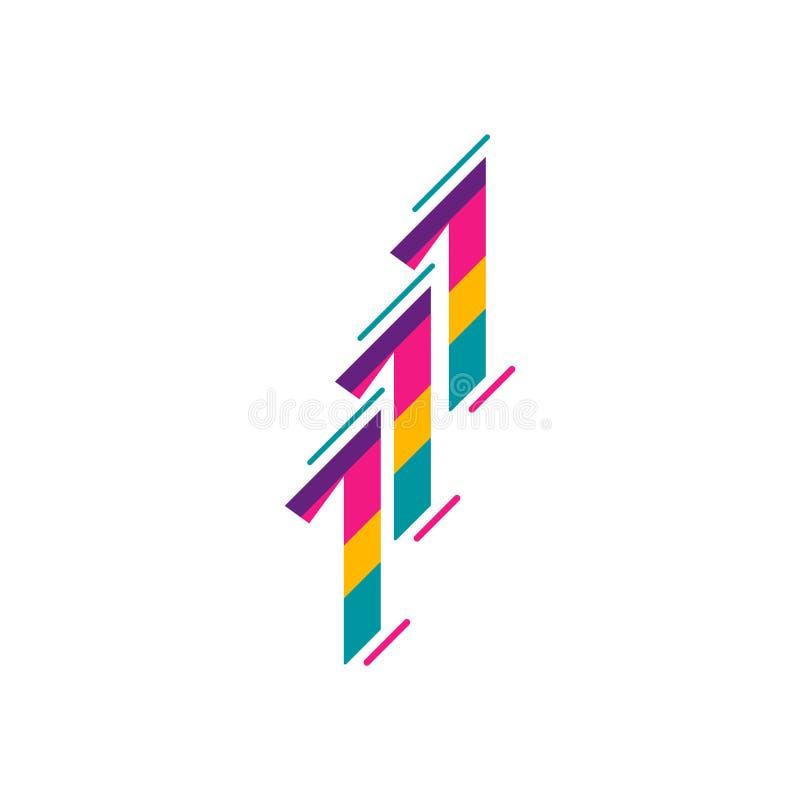 111 Years Anniversary Celebration Full Color Vector Template Design Illustration vector illustration