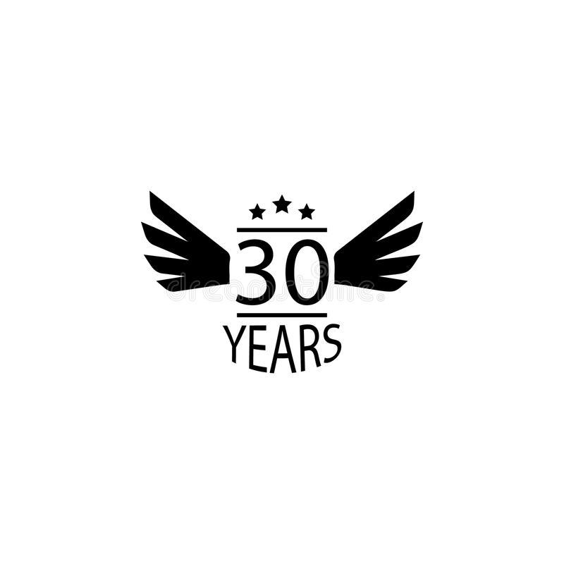 30 Year Anniversary Symbol: 30 Years Anniversary Signs Stock Vector. Illustration Of