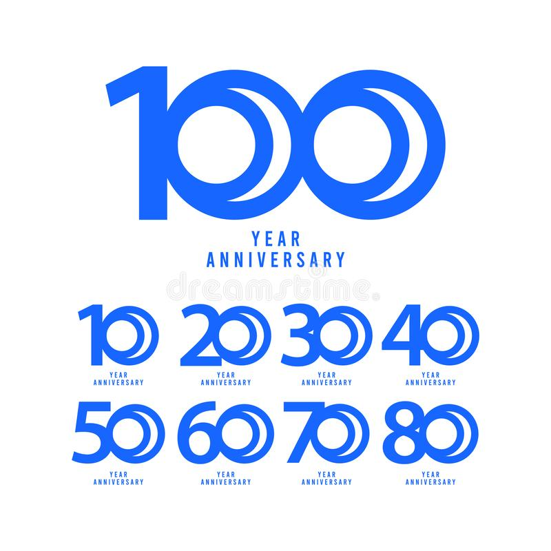 100 Years Anniversary Vector Template Design Illustration. Advertisement, corporate, greeting, ten, isolated, jubilee, text, marriage, ceremony, gold, luxury royalty free illustration