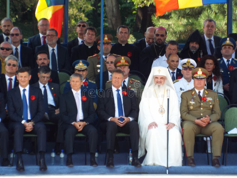 100 years after the First World War in europe ,commemoration in europe, romanian heroes royalty free stock image