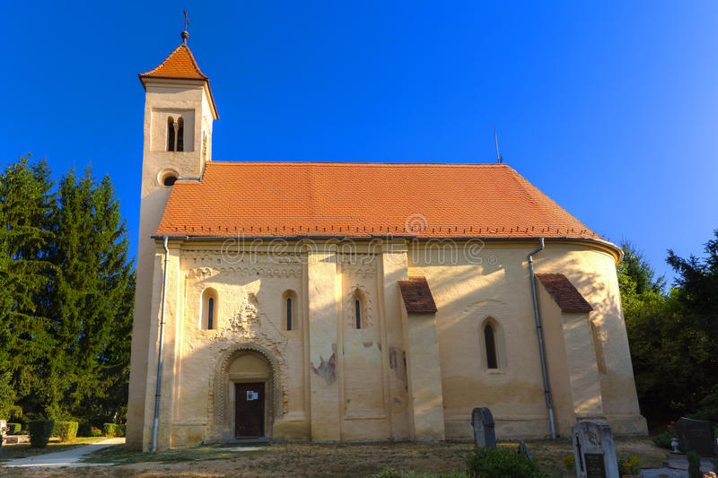 700 years old church stock image