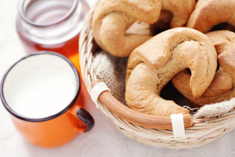 Download Yeast cinnamon croissant stock image. Image of cinnamon - 25612191