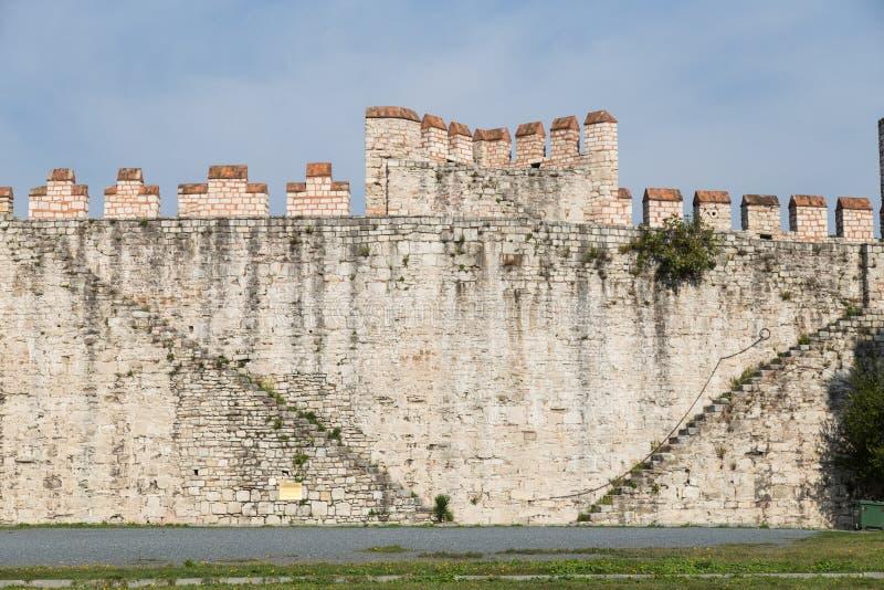Yedikule fästning arkivfoto