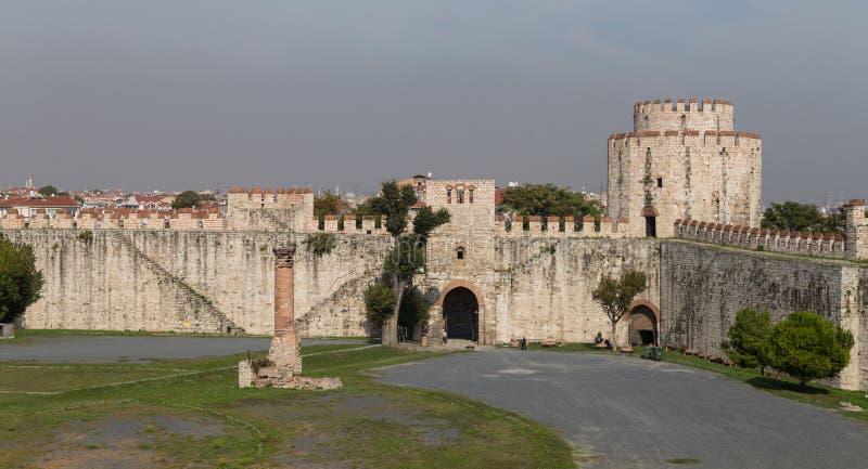 Yedikule fästning fotografering för bildbyråer