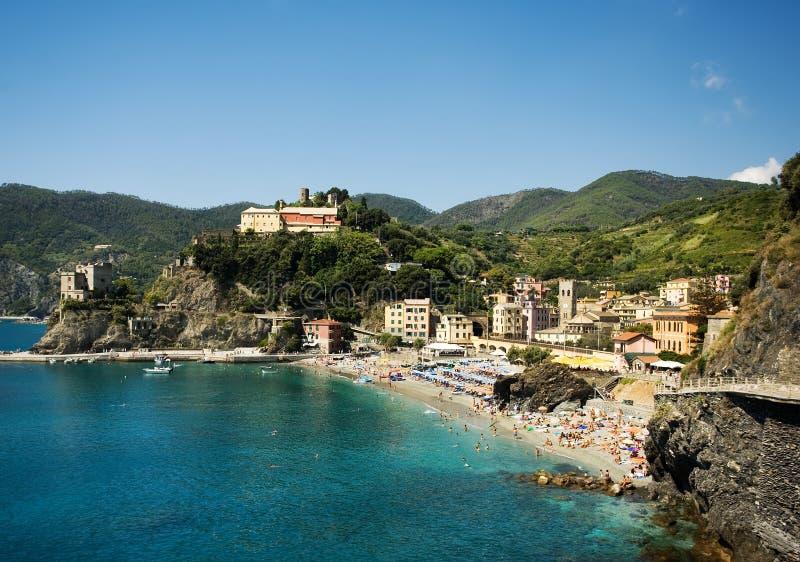 Yegua del al de Monterosso. Cinque Terre fotografía de archivo