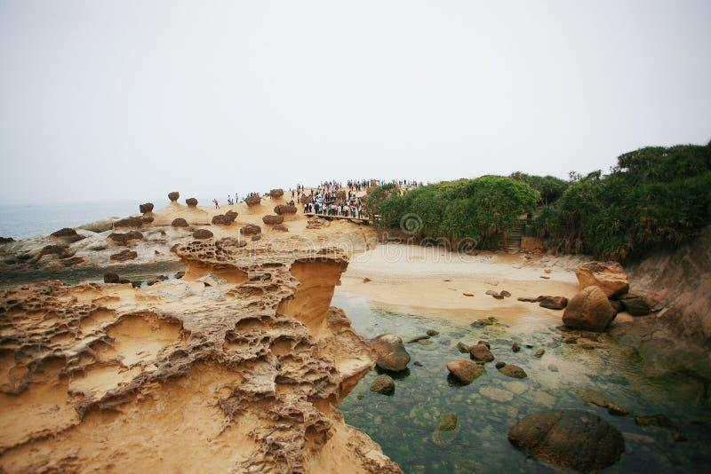 Yehliu Geopark obraz royalty free