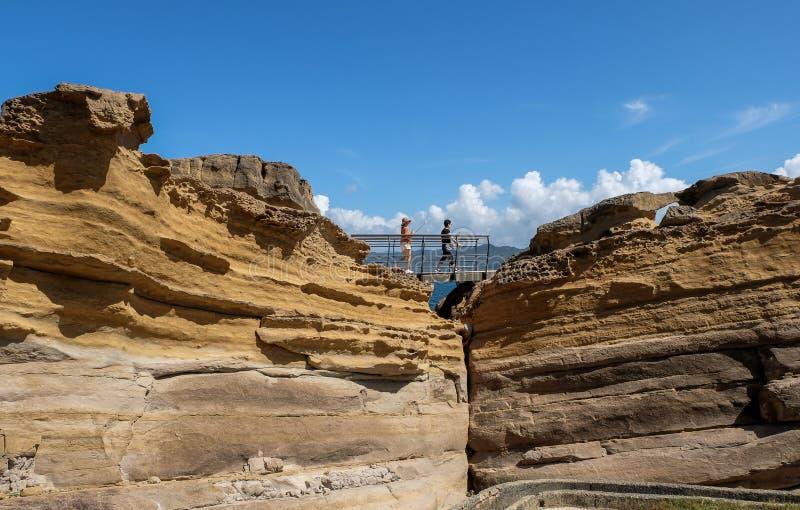 Yehliu Geopark imagen de archivo