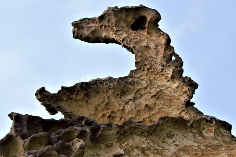 Yehliu Geopark, costa taiwanesa famosa, isla de Taiwán, el Este de Asia fotos de archivo libres de regalías