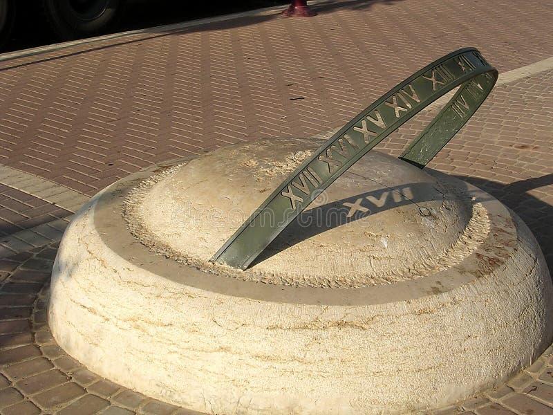 Download Or Yehuda Neve Savyon Sun-dial 2003 Stock Image - Image: 14861451