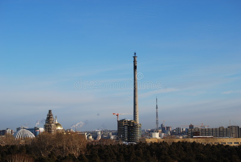 Yekaterinburg royalty free stock photography