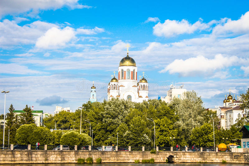 yekaterinburg royaltyfria bilder