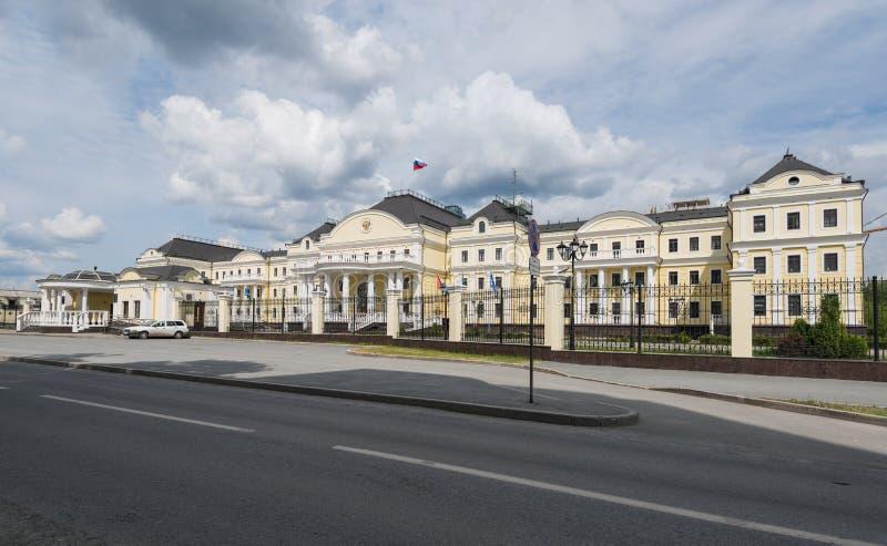 YEKATERINBURG, RUSLAND - JUNI 11, 2016: Woonplaats van Plenipot stock foto's